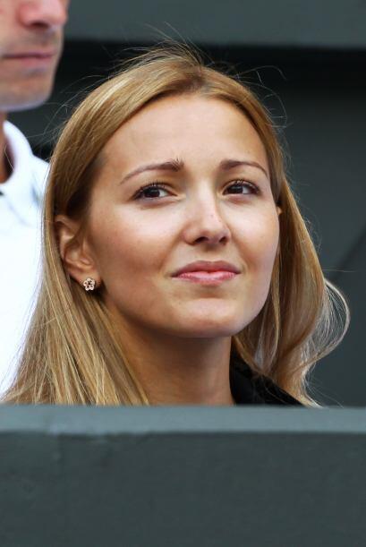 Jelena Ristic espera que el serbio Novak Djokovic se corone en Wimbledon...