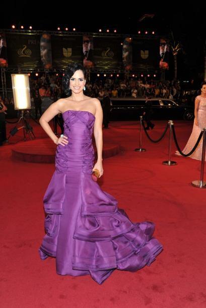 Scarlet estaba tan elegante que hasta pensamos que estaba en los Oscar.