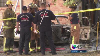 Conductor murió al estrellarse contra una casa
