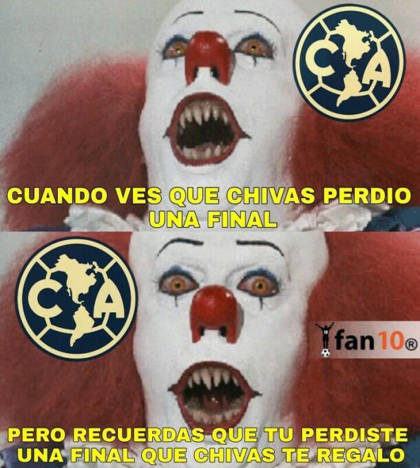 Los memes no perdonaron a Chivas y América por perder sus finales DE6dad...