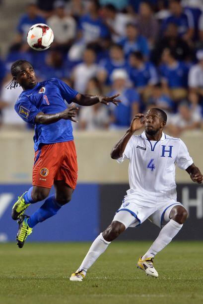 Por momentos, Haití dominó sorpresivamente el encuentro y fue el que tuv...