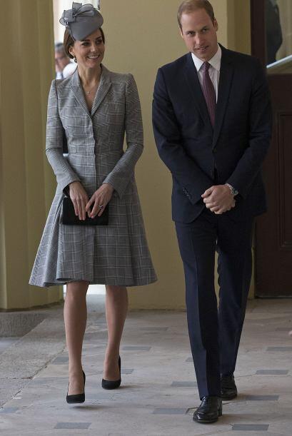 La duquesa se robó todas las miradas.