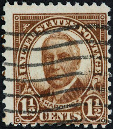 #29- Warren G. Harding. Mandato desde 4 de marzo de 192, hasta 2 de agos...