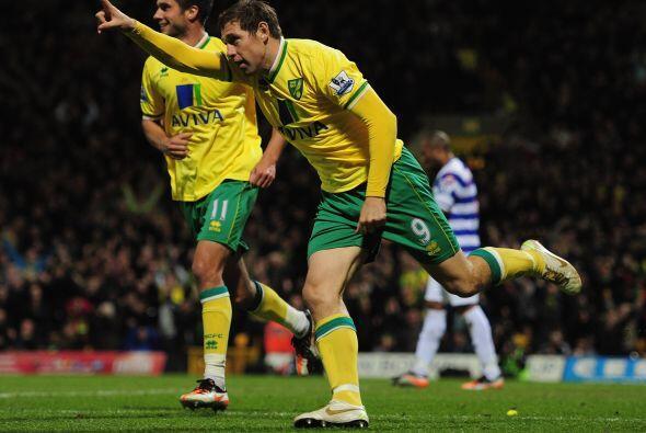 Pero el local, Norwich, festejó con el 2 a 1 final.