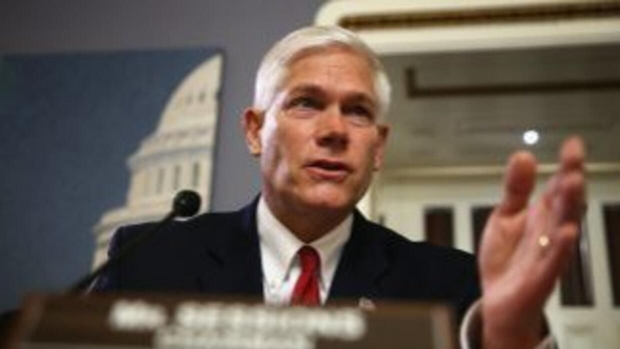 El congresista republicano por el estado de Texas, Pete Sessions.
