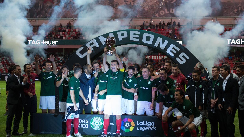 El equipo Leyendas de México.
