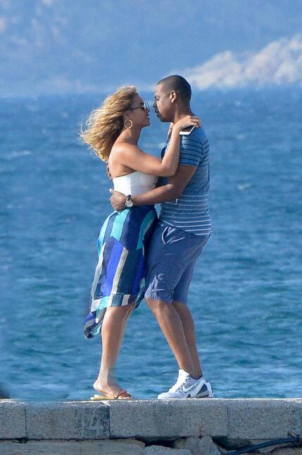 ¡Beyoncé y Jay Z están beso y beso! SALF_BYZCIL150916_03.JPG