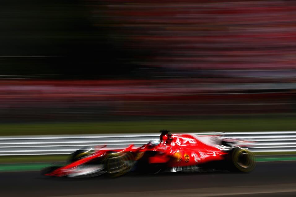 Hamilton gana en Monza y es nuevo líder, Vettel fue tercero Sebastian Ve...