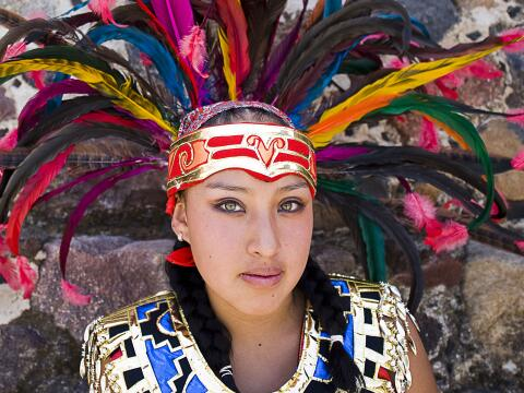 mujer azteca