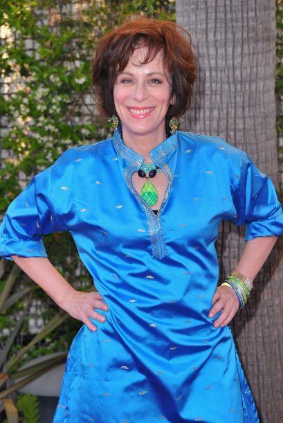 Jane también presta su voz para 'The Simpsons' como la jueza Constance H...