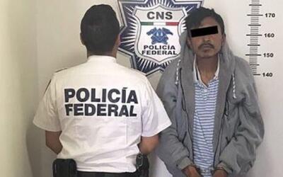 Orlando Xolalpa es procesado por la Policía Federal