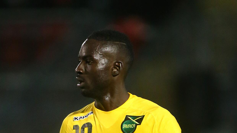 Simon Dawkins con la selección de Jamaica