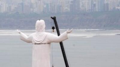 El Cristo del Pacífico, inspirado en el Cristo del Corcovado generó polé...