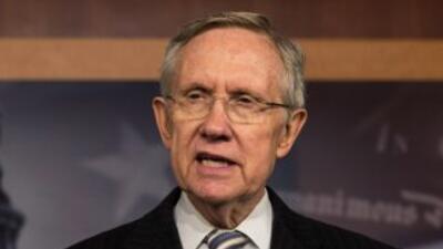 El Senador Harry Reid (demócrata de Nevada).