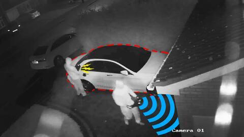 Robo de carros con llave inteligente