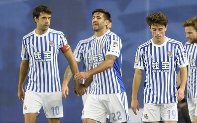 La Real Sociedad sacó un importante triunfo sobre el Levante.