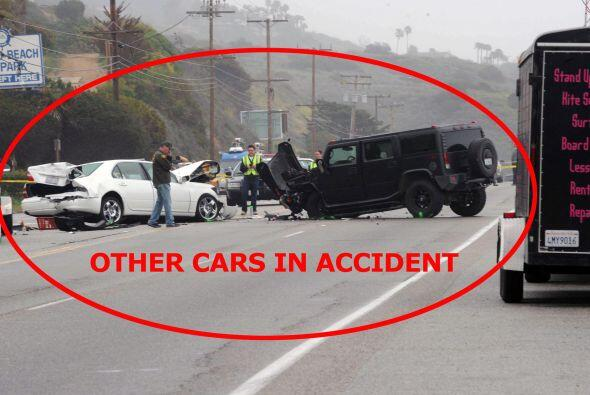 La conductora del vehículo falleció.