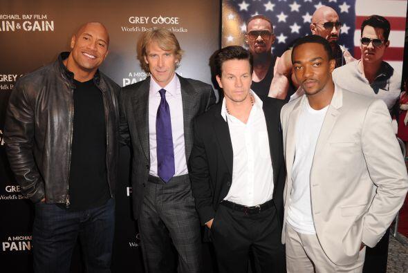 ¿Quién se hubiera imaginado que Mark Wahlberg mide sólo 5 pies con 7 pul...