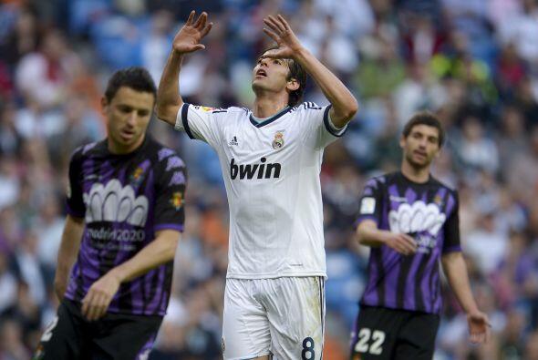 Kaká anotó el 3 a 2 que colocó al Real Madrid en la...