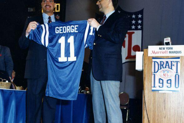16. Jeff George (1990).- Indianapolis Colts.