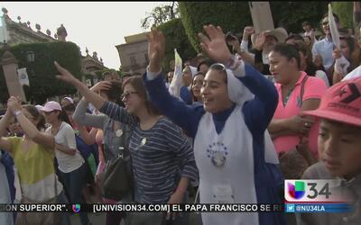 Michoacán en vela ante el arribo del Papa