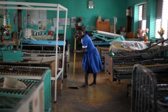 Además, al menos ocho personas murieron en la semana en el sur de Haití...