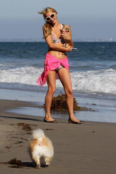 Derrochó sensualidad en la orilla del mar.Mira aquí los videos más chism...