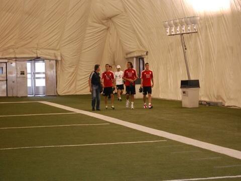 La Selección Mexicana tuvo su segunda sesión de entrenamie...