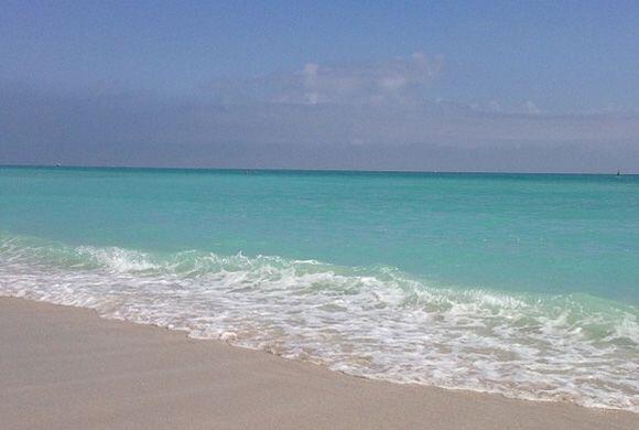"""""""Hermosa mañana en Miami #sinfiltro #bendecida #noregrets #miami"""", mostr..."""