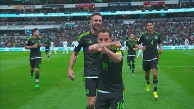 Andrés Guardado fue el jugador del partido en Estados Unidos vs. México