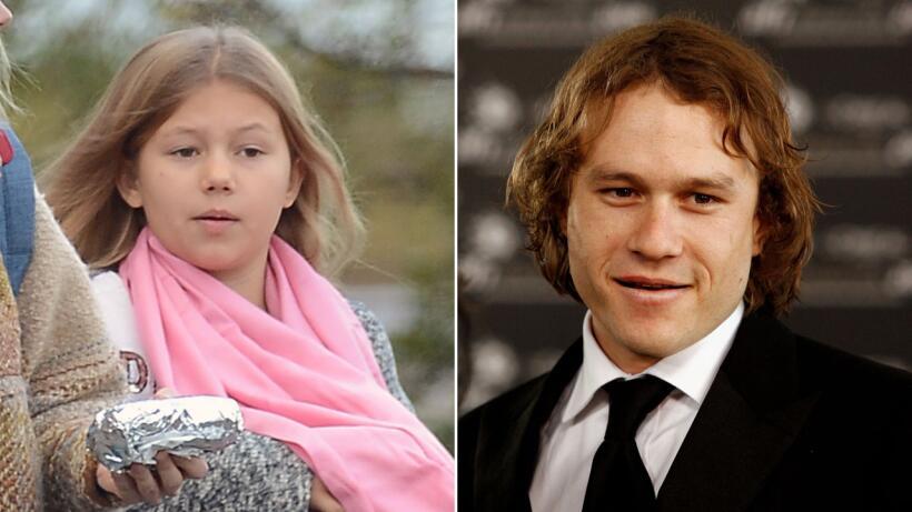 ¿Notas el parecido entre padre e hija?