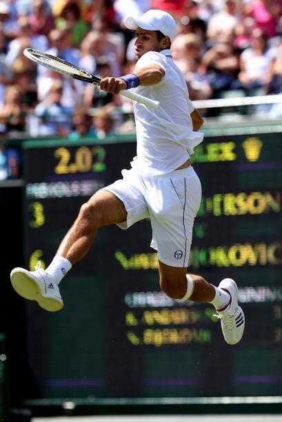 Con el resultado, Djokovic se clasificó para dieciseisavos de fin...