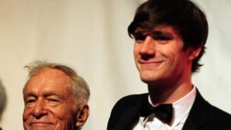 Marston Hefner, el hijo mayor de Hugh Hefner, fue arrestado por haber ag...