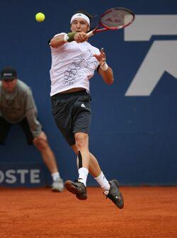 En una buena exhibición de tenis, el título se decidiría en muerte súbit...