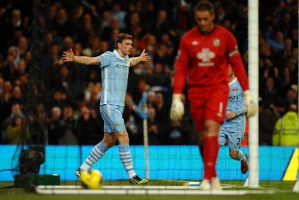 Fue una fiesta del Manchester City, puntero y con un fútbol de al...