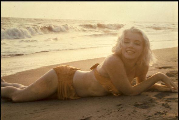 Esta sesión de fotos fue la última que se sacó Marilyn Monroe.