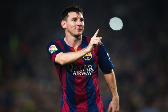 Por otro lado tenemos a Lionel Messi, el argentino es un símbolo del Bar...