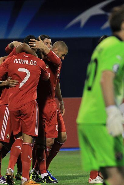 Di María marcó el único gol del encuentro y le dio al Real Madrid una vi...