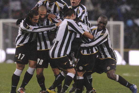 El Udinese se terminó imponiendo por 3-1.