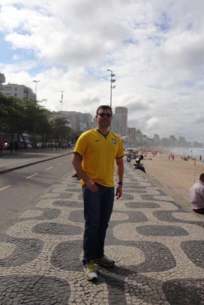 Más de las playas de Leblón en Río de Janeiro.