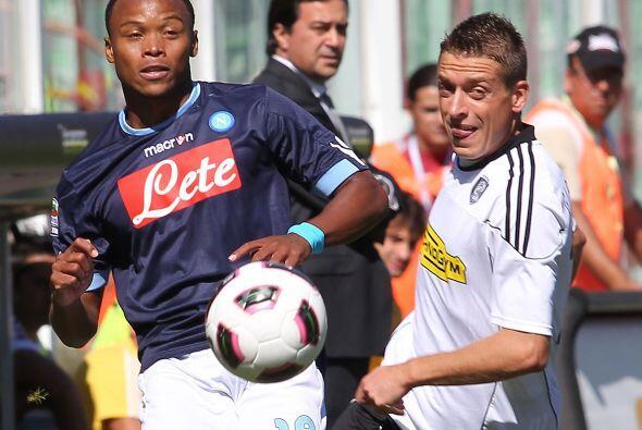 El Nápoles visitó al cuadro sensación de Italia, el recién ascendido Ces...