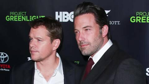 Ben Affleck y Matt Damon recibirán el premio 'Guys of the Decade'