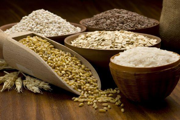 Las mejores fuentes de granos integrales son aquellos alimentos hechos d...