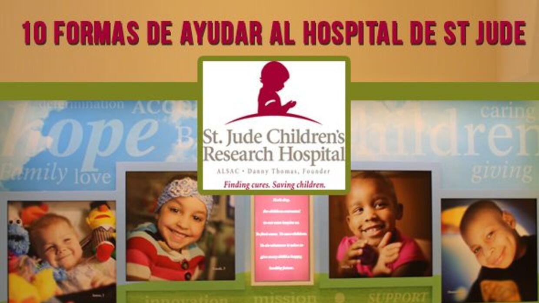 10 Formas de Apoyar al Hospital St. Jude