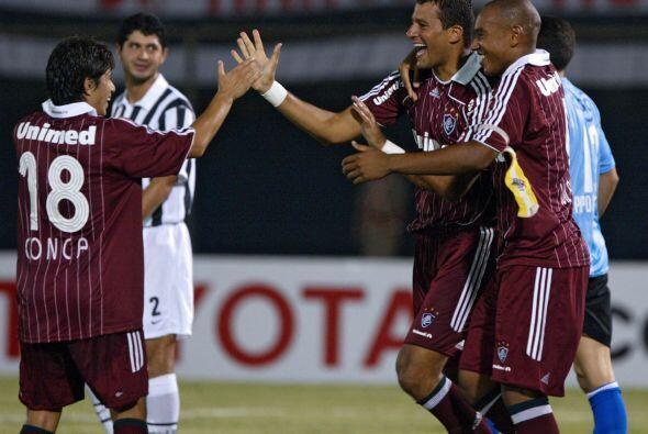 La propia afición del Fluminense lo nominó el ´Crack...