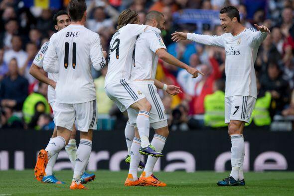 El Real Madrid goleó a la Real Sociedad y Cristiano Ronaldo volvi...
