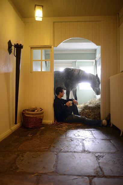 Por si te lo habías preguntado, Nasar también tiene su propio dormitorio...