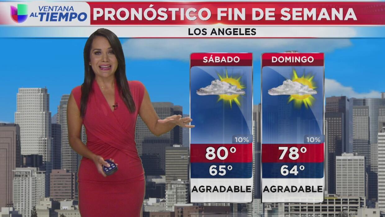 Se pronostica cielo nublado en Los Ángeles para este sábado 19 agosto