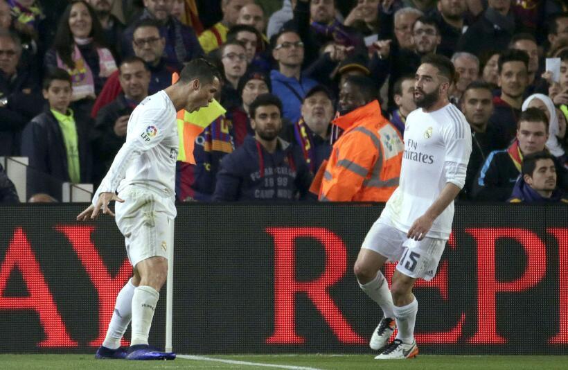 Cristiano Ronaldo anotó el gol de la victoria merengue en Barcelona