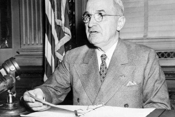 # 33 Harry S. Truman. Mandato desde 12 de abril de 1945, hasta 20 de ene...
